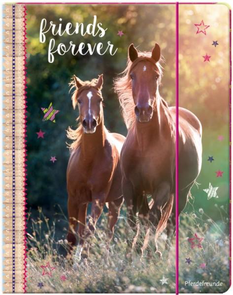 Pferdefreunde Sammelmappe DinA4