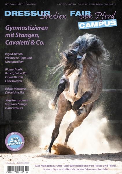 Dressurstudien Gymnastizieren mit Stangen, Cavaletti & Co.
