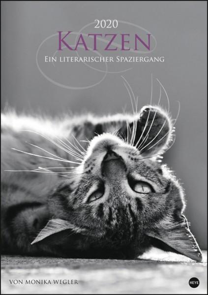 Katzen - Ein literarischer Spaziergang 2020