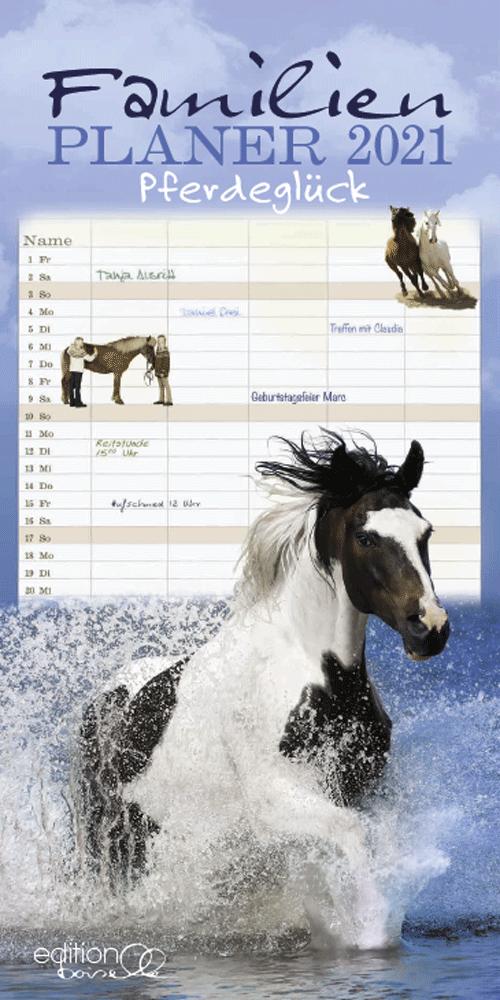 Pferdeglück Familienplaner Boiselle 2021