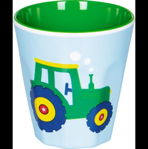 Melamin-Becher Traktor