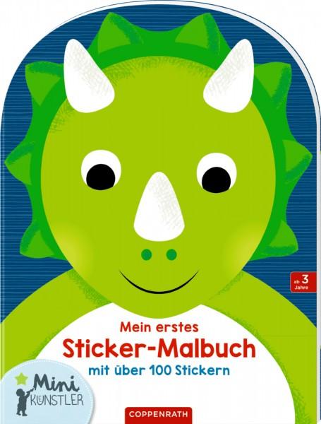 Mein erstes Sticker-Malbuch Dinosaurier