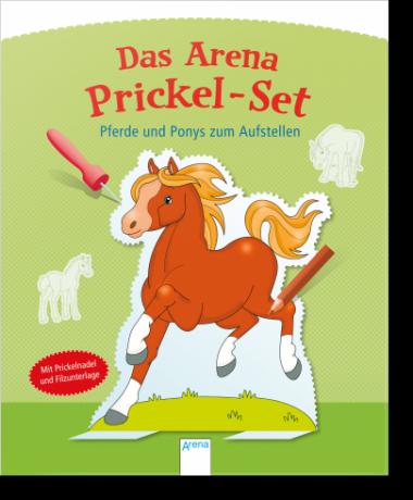 Prickel Set - Pferde und Ponys zum Aufstellen