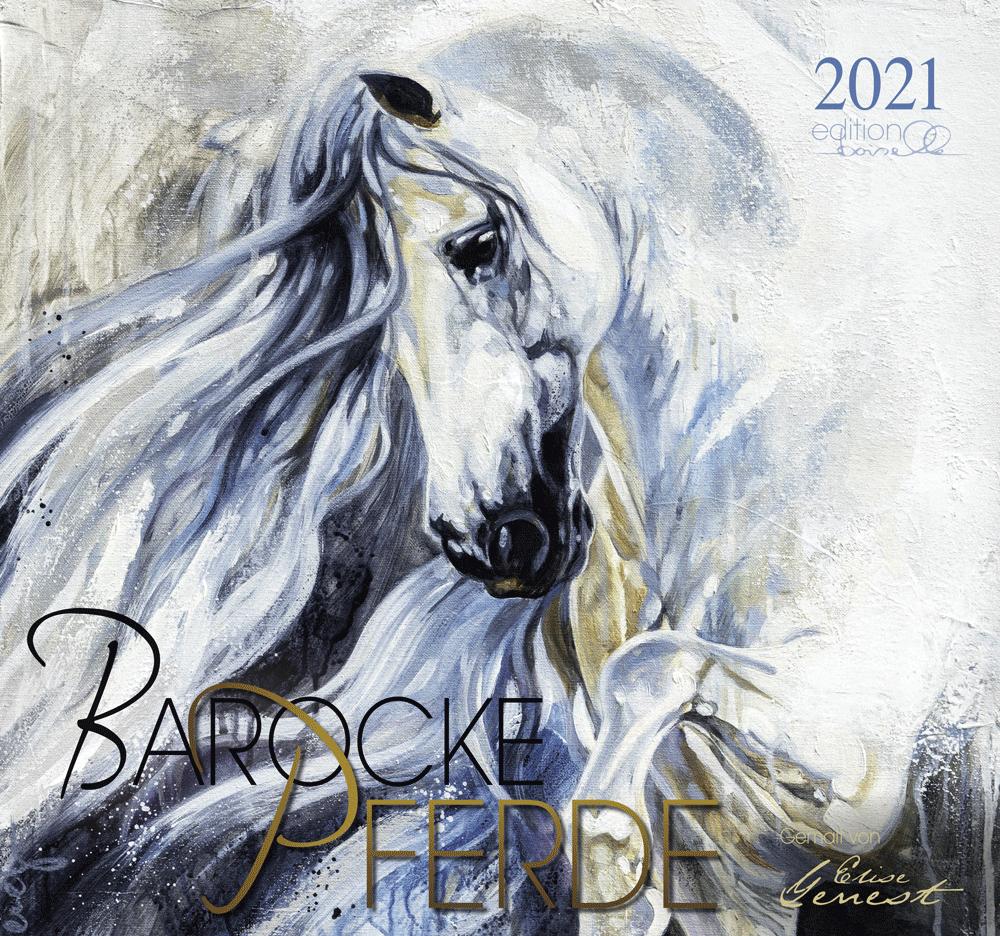 Barocke Pferde Gemalt von Elise Genest 2021 Boiselle