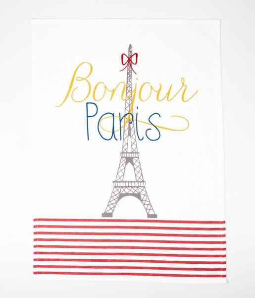 Geschirrtuch Bonjour Paris