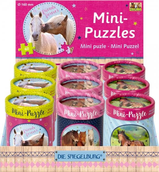 Mini-Puzzles Pferdefreunde