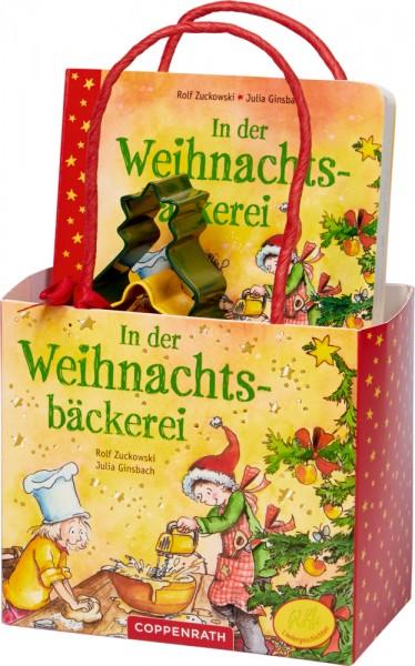 In der Weihnachtsbäckerei - Geschenkset (Zuckowski) Geschenkset: Buch mit Ausstechförmchen