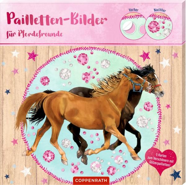 Pailletten-Bilder für Pferdefreunde