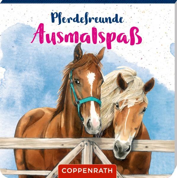 Pferdefreunde Ausmalspaß