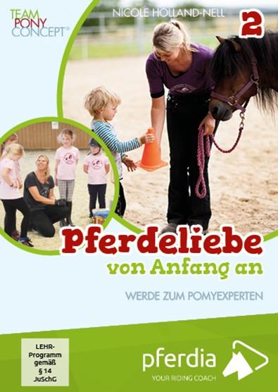 Pferdeliebe von Anfang an Teil 1 + 2 DVD set (Nicole Holland-Nell)