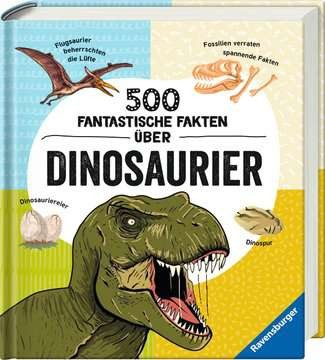 500 fantastische Fakten über Dinosaurier