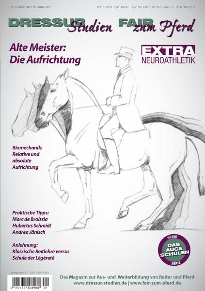 Dressurstudien 1/19 - Alte Meister: Die Aufrichtung