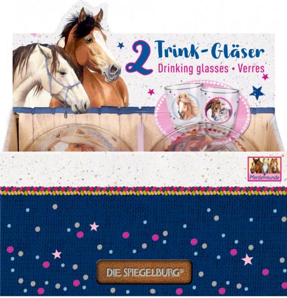 Trinkgläser Pferdefreunde neu