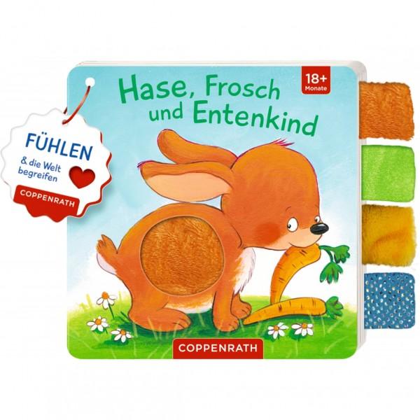 Coppenrath Verlag Fühlbuch mit Laschen - Hase, Frosch...