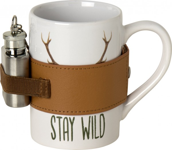 STAY WILD - Keramikbecher