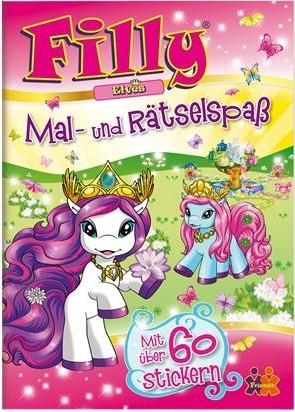 Filly Elves Mal- und Rätselspaß