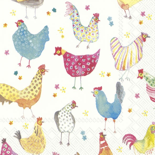 Jolly Hens Servierten