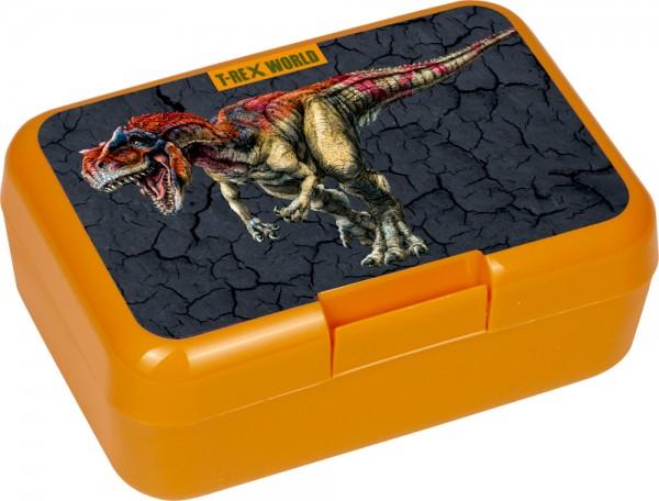 Butterbrotdose T-Rex World (neue Form)
