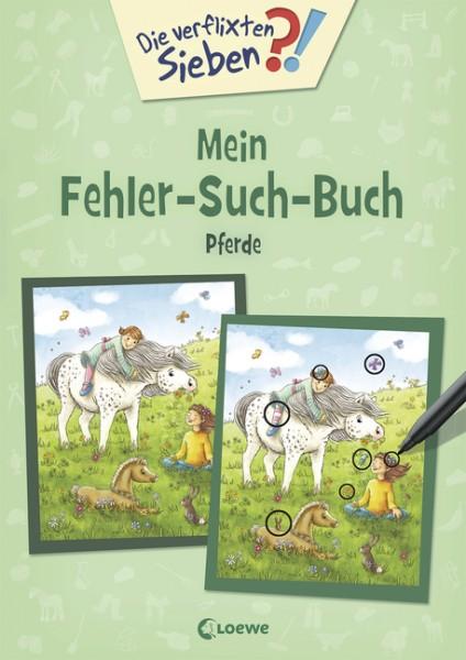 Mein Fehler-Such-Buch - Pferde