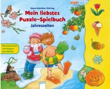 Kiddilight, Puzzlespielbuch Jahreszeiten