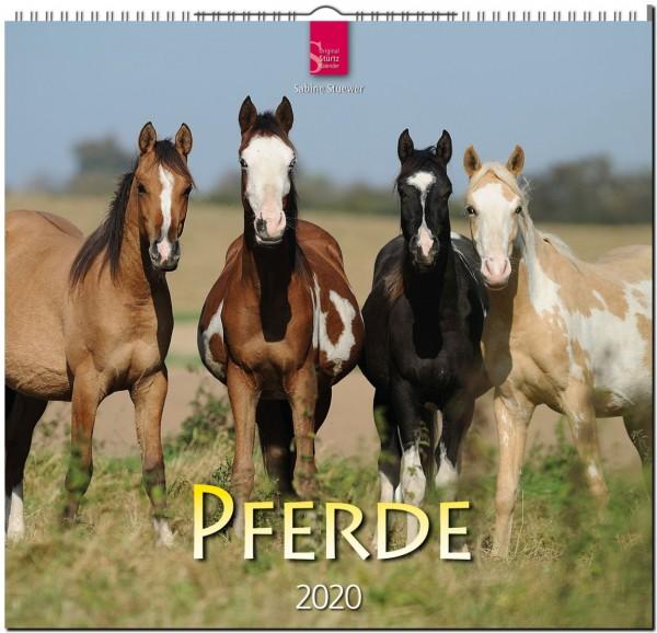 Pferde 2020 - Original STÜRTZ-Kalender