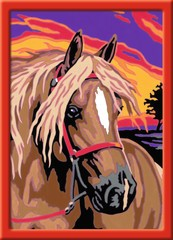 Pferdetraum Zeichen- und Malsets