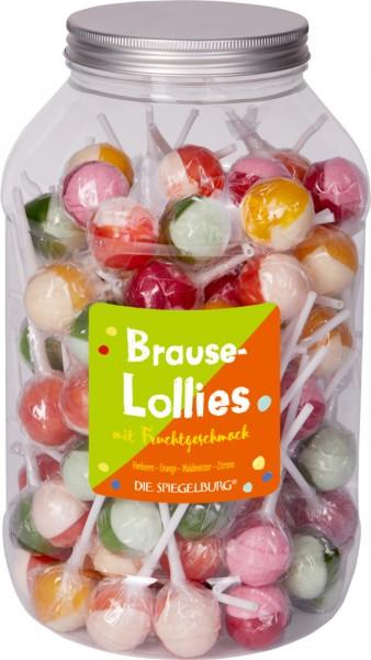 Brause-Lollies mit Fruchtgeschmack
