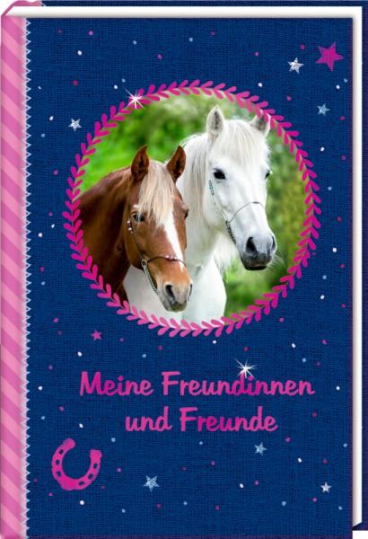 Eintragbuch: Meine Freundinnen und Freunde Pferdefreunde