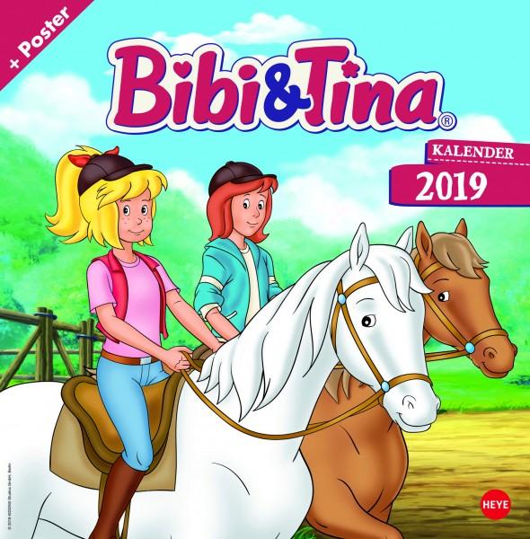 Bibi und Tina TV Broschurkalender 2019