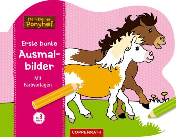 Mein kleiner Ponyhof: Allererste Ausmalbilder. Mit Farbvorlagen.