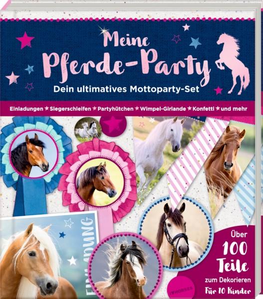 Meine Pferde-Party - Pferdefreunde Mottoparty-Set