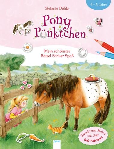 Pony Pünktchen - Mein schönster Rätsel-Sticker-Spaß