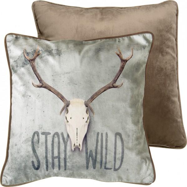 STAY WILD - Kissen (Textil)