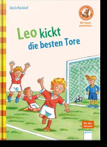 Bücherbär: Leo kickt die besten Tore