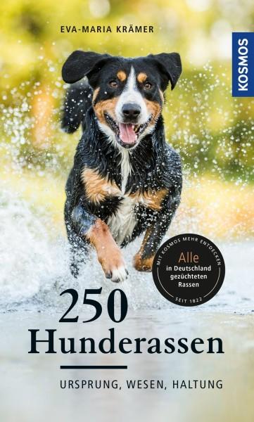 250 Hunderassen Ursprung, Wesen, Haltung - Taschenbuch