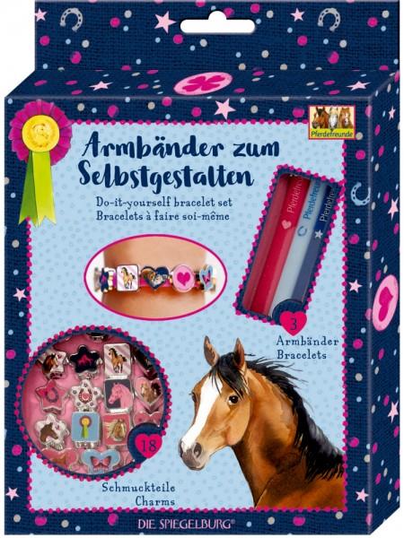 Armbänder zum Selbstgestalten Pferdefreunde neu
