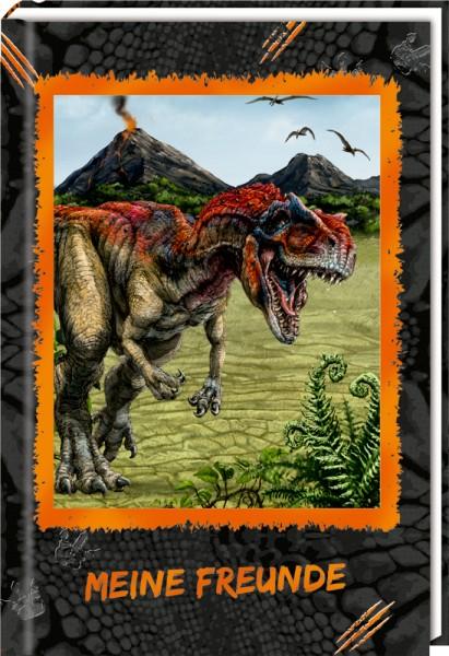 Freundebuch: T-Rex World - Meine Freunde (mit 3D-Bild)