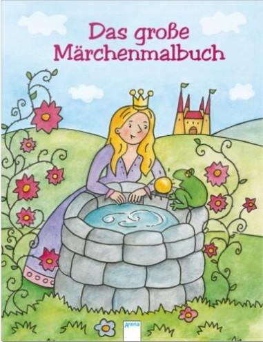 Das große Märchen - Malbuch