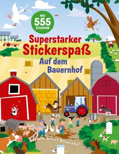Superstarker Stickerspaß. Auf dem Bauernhof Gestalte deinen Bauernhof
