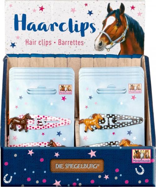 Haarclips Pferdefreunde neu