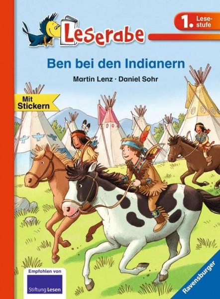 Ben bei den Indianern - Leserabe
