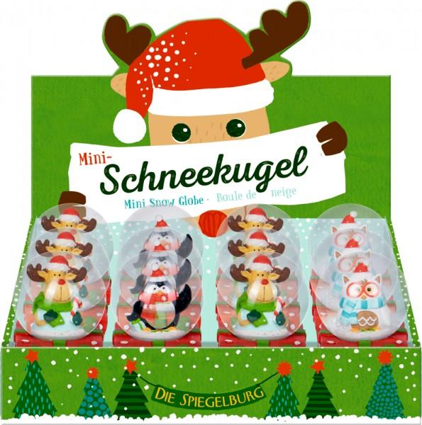 """Mini-Schneekugel """" Weihnachtsgeschenke für Kinder"""""""