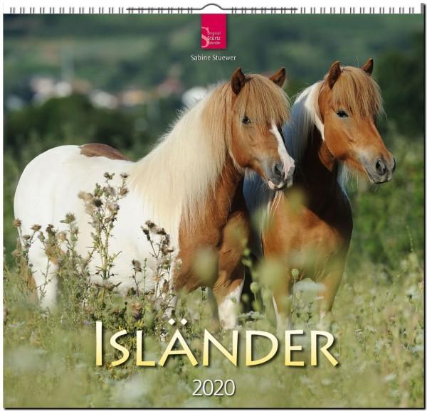 Isländer 2020 - Original STÜRTZ-Kalender