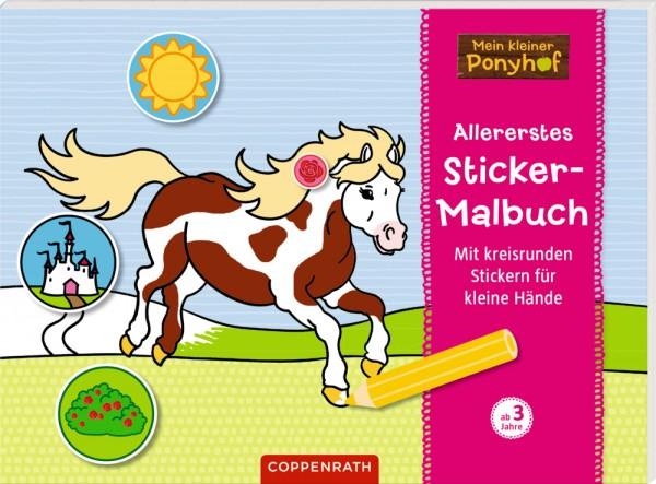 Allererstes Sticker-Malbuch