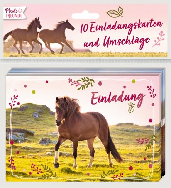Einladungskarten Pferdefreunde