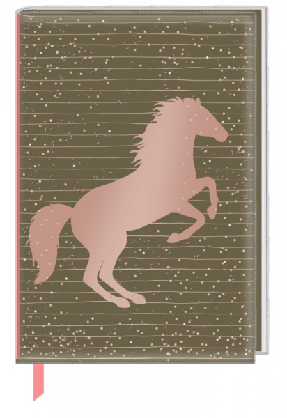 I love horses - Notizbuch