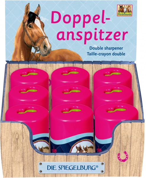 Pferdefreunde Doppelanspitzer (neu)
