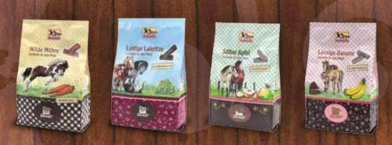 Pferdefreunde Leckerlis Minibeutel Mix