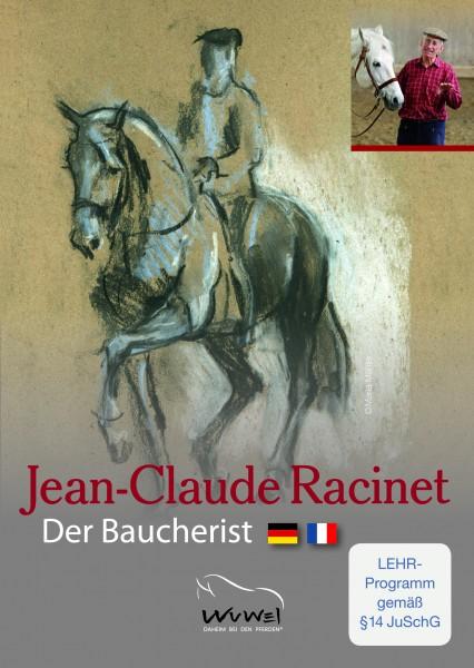 Jean-Claude Racinet - Der Baucherist - DVD