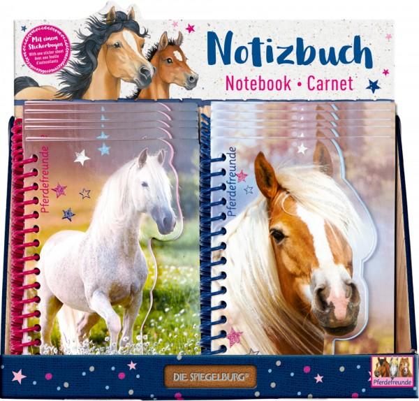 Notizbuch Pferdefreunde neu